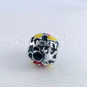 Pandora Mickey Mouse ''Mickey Mania'' Charm